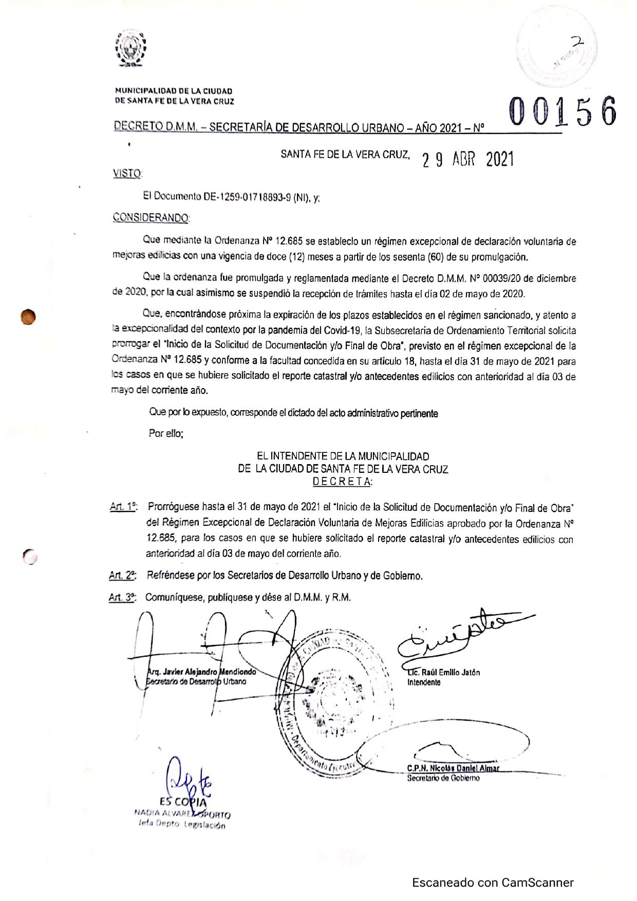 Decreto 156-21