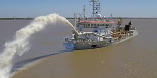 extracción de arena